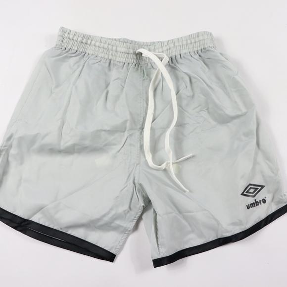 1f161c02eb Umbro Bottoms | 80s New Youth Large Nylon Soccer Shorts Gray | Poshmark